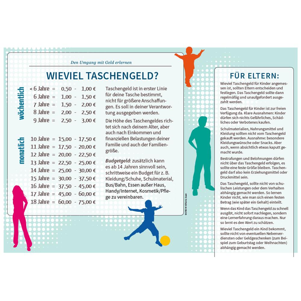 Stundenplan: Wieviel Taschengeld