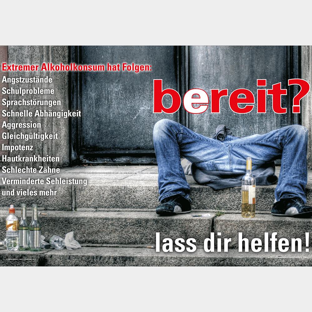 Plakat (DIN-A2) • Alkohol: