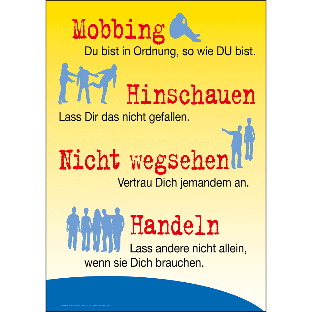 Plakat (DIN-A3) • Mobbing