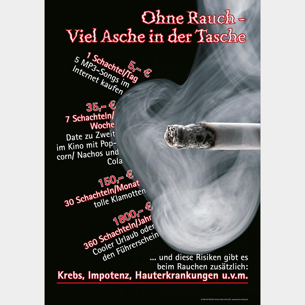 Plakat (DIN-A3) • Nichtrauchen