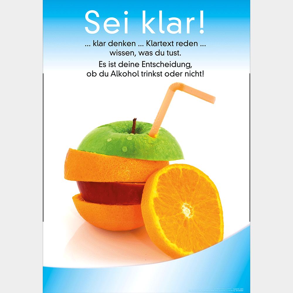 Plakat (DIN-A3) • Alkohol:
