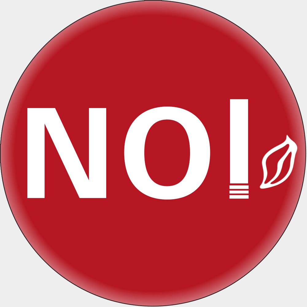 NO (Rauchverbot) • Ø 10 cm