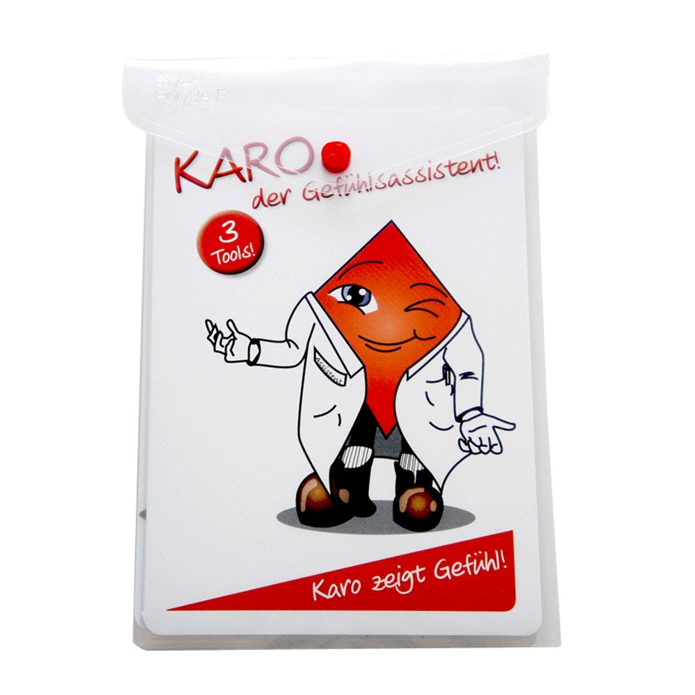 Karo - Der Gefühlsassistent • DIN A5 laminiert